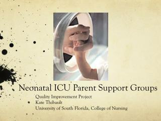 Neonatal ICU Parent Support Groups