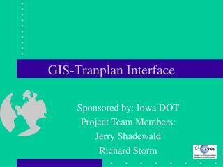 GIS-Tranplan Interface