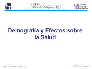 Demografía y Efectos sobre la Salud