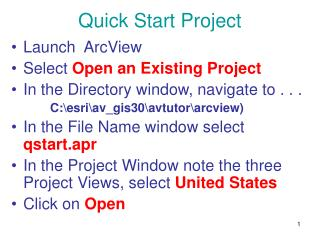 Quick Start Project