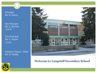 Welcome to Langstaff Secondary School