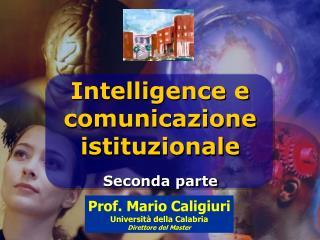 Intelligence e  comunicazione istituzionale