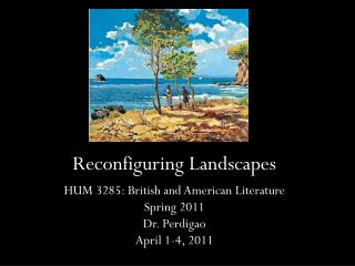 Reconfiguring Landscapes