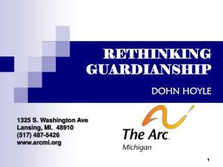 RETHINKING GUARDIANSHIP DOHN HOYLE