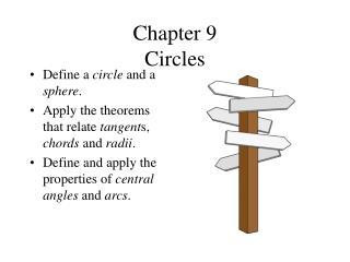 Chapter 9 Circles