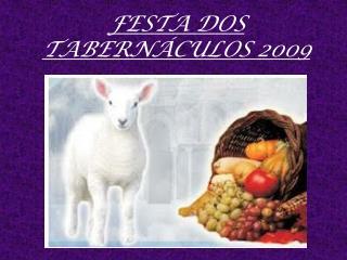 FESTA DOS TABERNÁCULOS 2009