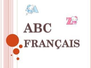 ABC fran�ais