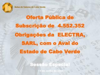 Oferta Pública de Subscrição de  4.552.352