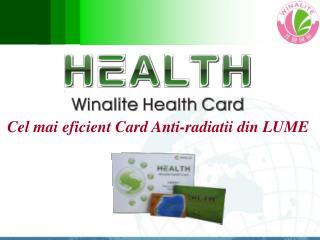 Cel mai eficient Card Anti-radiatii din LUME