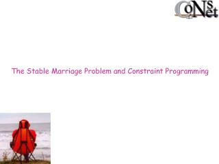 The Stable Marriage Problem and Constraint Programming