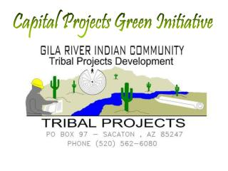 Capital Projects Green Initiative