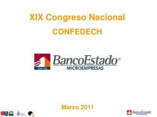 XIX Congreso Nacional  CONFEDECH