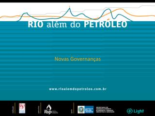 Novas Governan�as
