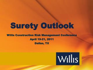 Surety Outlook