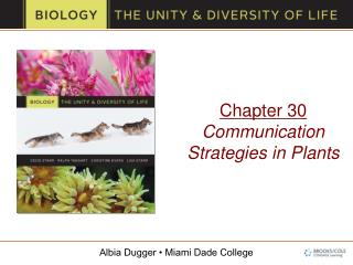 Chapter 30 Communication Strategies in Plants
