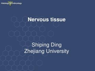 Nervous tissue Shiping Ding Zhejiang University