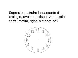 Attività di geometria (prof.ssa Morelli)