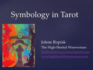 Symbology  in Tarot