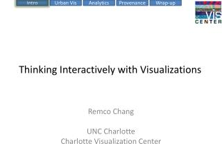 Thinking Interactively with Visualizations