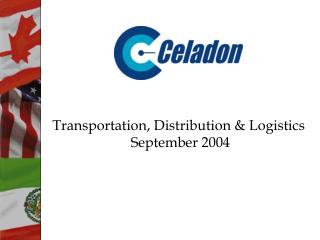 Transportation, Distribution & Logistics  September 2004