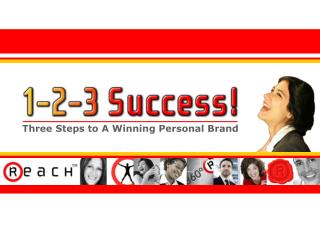 Three Steps to A Winning Personal Brand