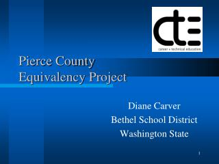 Pierce County Equivalency Project