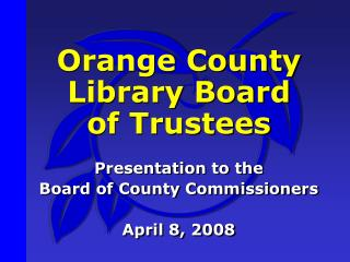 Orange County Library Board  of Trustees
