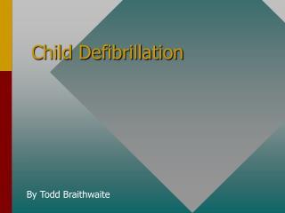 Child Defibrillation