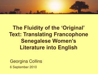 Georgina Collins