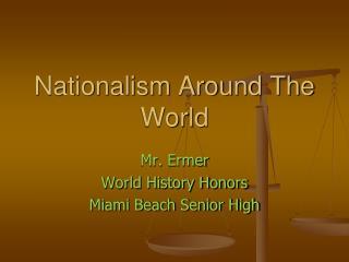 Nationalism Around The World