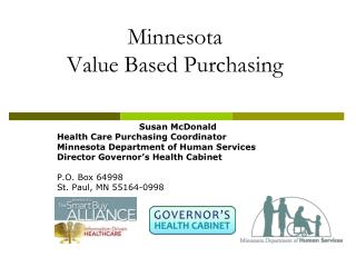 Minnesota Value Based Purchasing