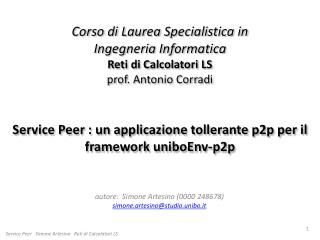 autore:  Simone Artesino (0000 248678) simone.artesino@studio.unibo.it