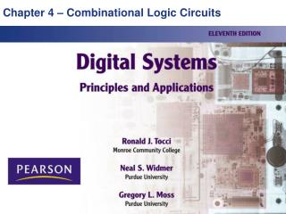 Chapter 4 � Combinational Logic Circuits