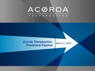 Acorda Therapeutics: Preclinical Pipeline