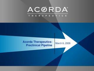 Acorda Therapeutics: Preclinical Pipeline