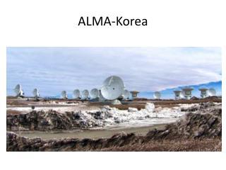 ALMA-Korea
