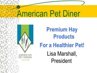 American Pet Diner