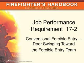 Job Performance Requirement  17-2