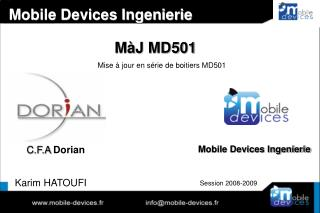 M�J MD501