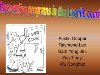 Austin Cooper Raymond Loo Sam Yong Jek Yao Tianyi Wu Songhao