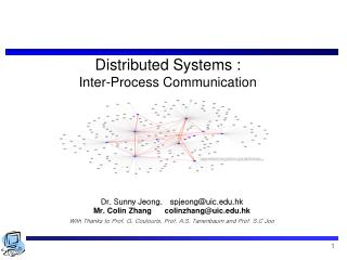 Distributed Systems :  Inter-Process Communication