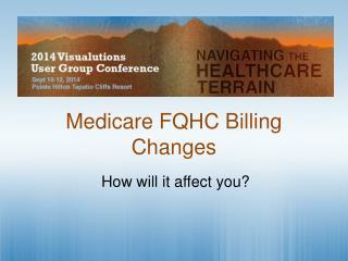 Medicare FQHC Billing Changes