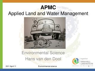APMC  Applied Land and Water Management