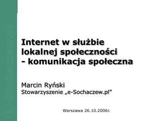 Warszawa 26.10.2006r.