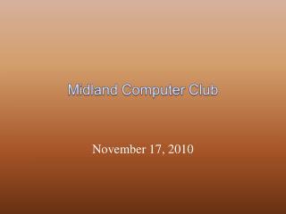 November 17, 2010