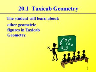 20.1  Taxicab Geometry