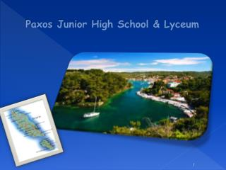 Paxos Junior High School & Lyceum