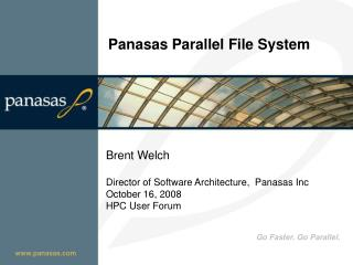 Panasas Parallel File System