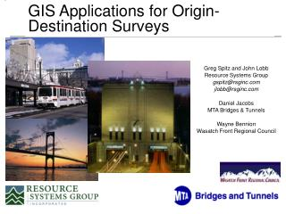 GIS Applications for Origin-Destination Surveys