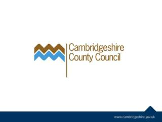 Making Assets Count (Part of Cambridgeshire's  Total Place  work)